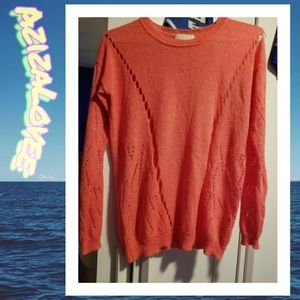 XL Forever 21 Pink Knit Sweater